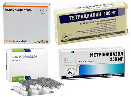 Кларитромицин и Тетрациклин