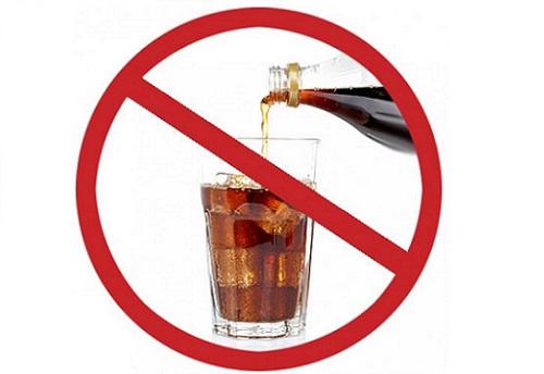 Запрет на газированные напитки