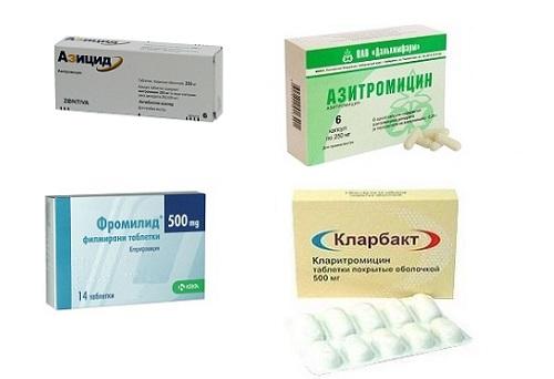 Антибиотики язва