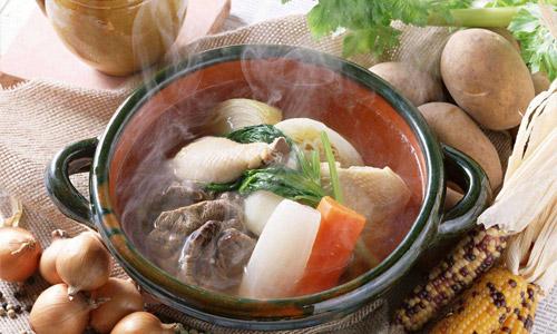 горячий суп