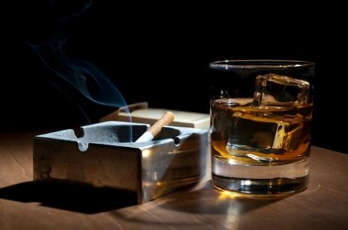 курение при язве