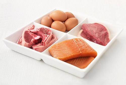 мясо с рыбой