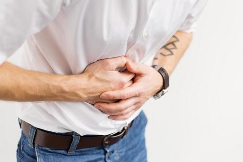 Проявление боли при язве желудка