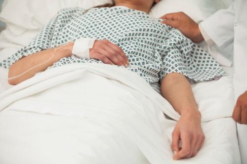 Пациент в постели
