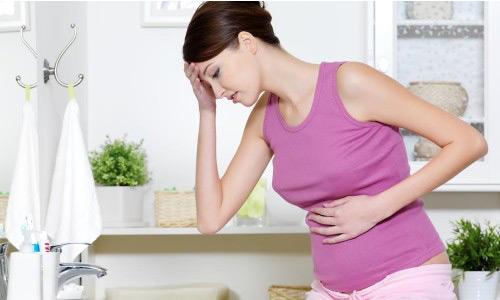 Боли в желудке при беременности