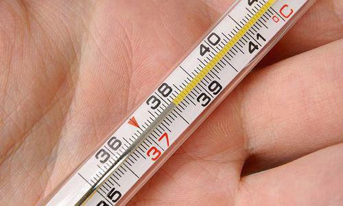 повышение показателей температуры