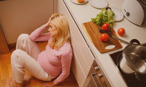 стресс беременных