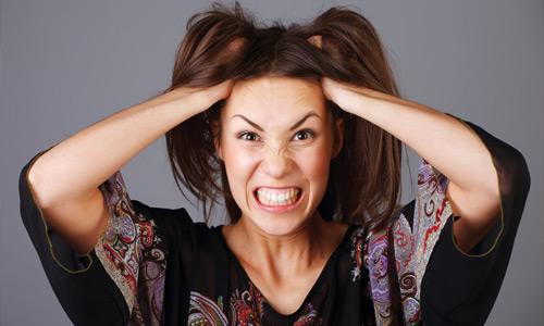 стресс женщины