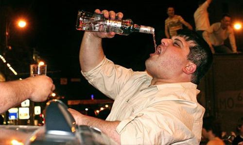 злоупотребление спиртным