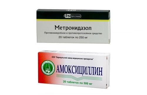 Сочетание антибиотиков с Омезом