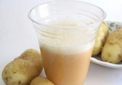 Картофельный сок и язва