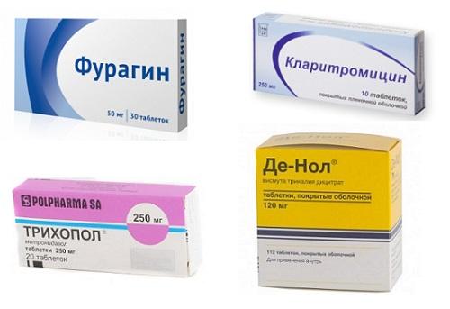 Антибактериальные препараты от язвы