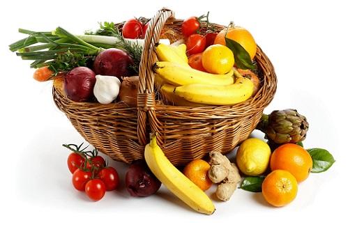 фрукты с овощами при язве