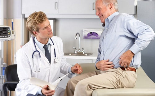 Обращение к врачу с язвой