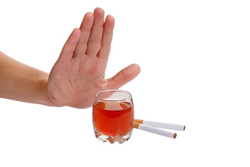 отказ от спиртного и курения