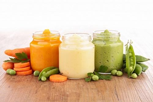 пюре из овощей