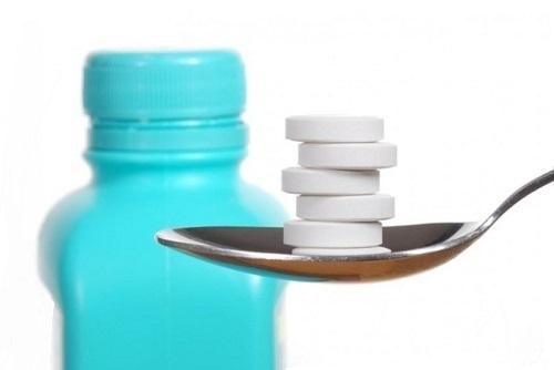 Выпускается Де-Нол в форме круглых таблеток