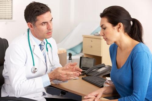 Опрос пациента с грыжей