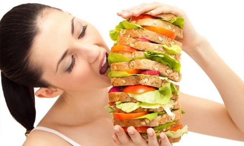 обильная еда