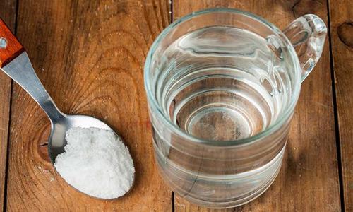 очищение соленой водой